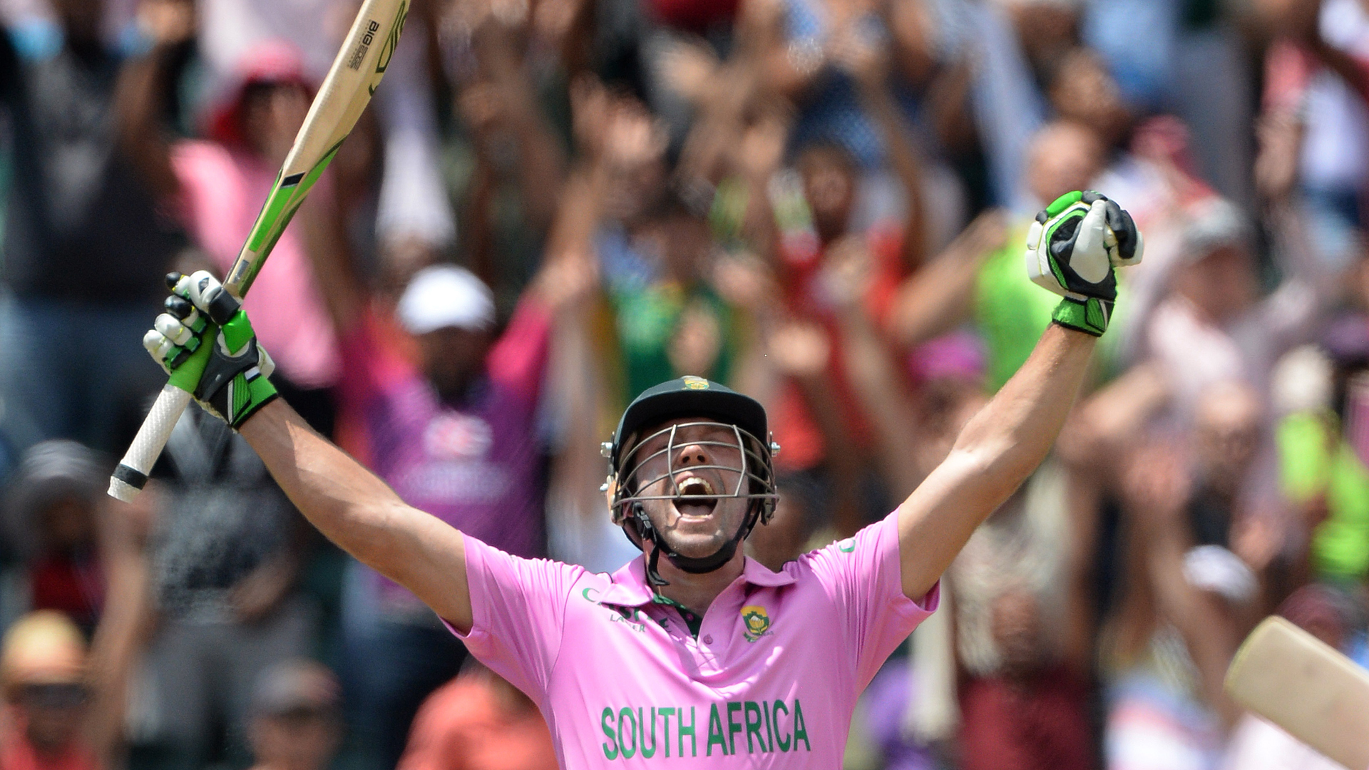 AB de Villiers and the power of pink.