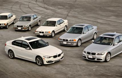 40 years of the BMW 3 Series - an evolving motoring icon.