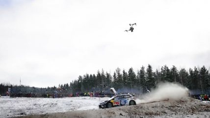 Drones have transformed the WRC.