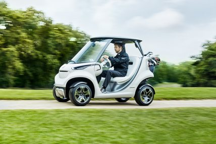 Mercedes presents the future of the golf car.