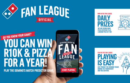 Play the Domino's Fan League and win with the ultimate football fan fuel.