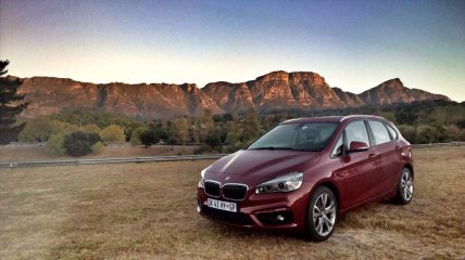 The BMW 225i Active Tourer - a reminder that getting older is cool.