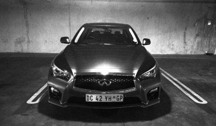 The Infiniti Q50 Hybrid - the smartphone of cars.