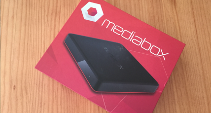 The Mediabox - something that'll change your lounge.