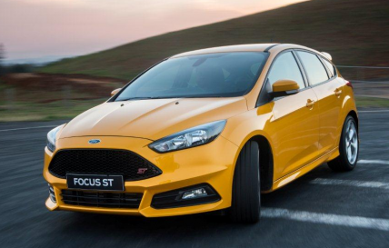 The new Ford Focus ST - It's here to play.