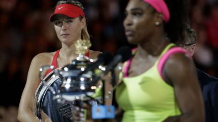 The Serena and Sharapova beef.
