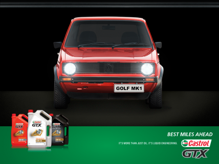 Win a customized Legendary Ride with Castrol GTX